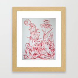 Tarandarus Flosculus (A) Framed Art Print