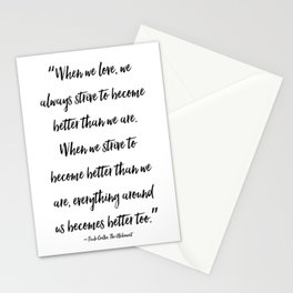 Paulo Coelho - The Alchemist - Quote Stationery Cards