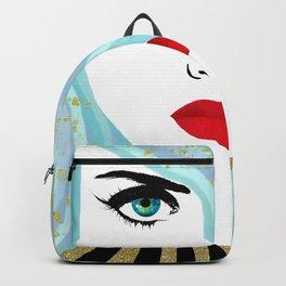 Francesca Has Mermaid Hair Backpack