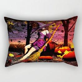 Season Of The Witch Rectangular Pillow