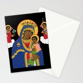 MARY AND CHRIST Stationery Cards