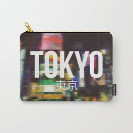 Tokyo - Cityscape Carry-All Pouch
