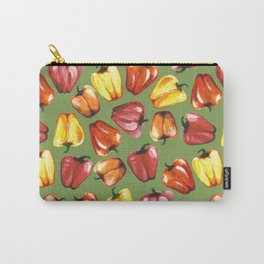 Bell Peppers Pattern Carry-All Pouch