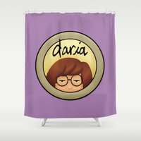 daria Shower Curtains featuring Morgendorffer. by Area51