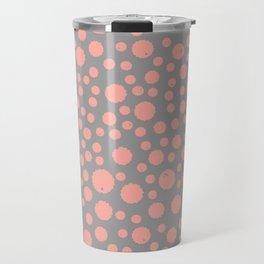 Peach Splat Travel Mug