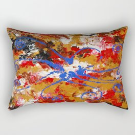 Murky Reef Rectangular Pillow