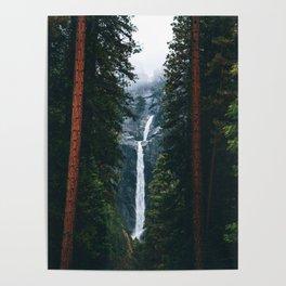 Yosemite Falls - Yosemite National Park, California Poster