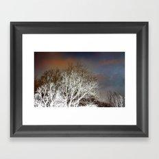 December magic Framed Art Print