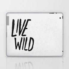 Live Wild Typography Laptop & iPad Skin
