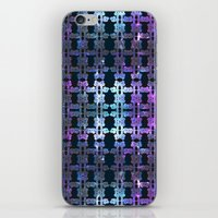 the shining iPhone & iPod Skins featuring Shining Shapes by Nahal