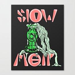 Slow Melt | 2014 Canvas Print