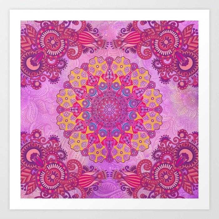 Mandala or something Art Print