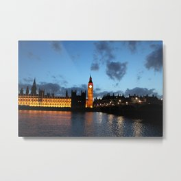 Big Ben, London's Watchman Metal Print