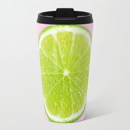 Pink Lime Travel Mug