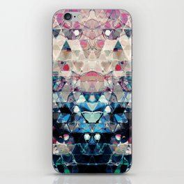 Colorful Abstract Triangles iPhone Skin