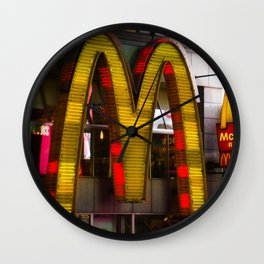 Mickey D's Wall Clock