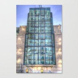 SIS Secret Service Building London Canvas Print
