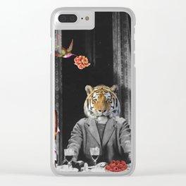 Vous êtes des animaux Clear iPhone Case