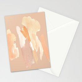 Minimalist Watercolor Blush Tones Art Print Stationery Cards