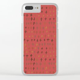 William Johnson : Graveyard Clear iPhone Case