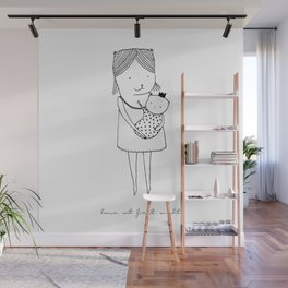LOVE AT FIRST SIGHT Wall Mural