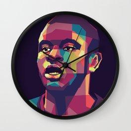 N'Golo Kante on WPAP Wall Clock