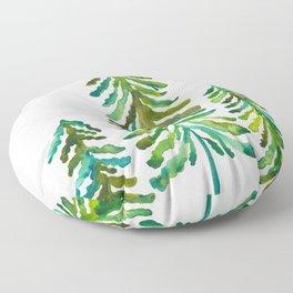 Pine Trees – Green Palette Floor Pillow