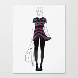Dressed to Kill  Canvas Print