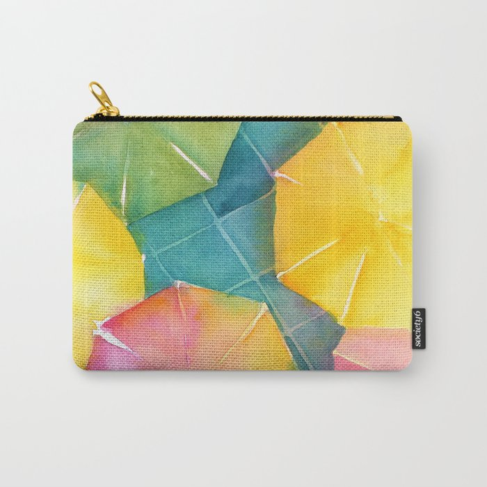 Rainy Day Umbrellas Carry-All Pouch