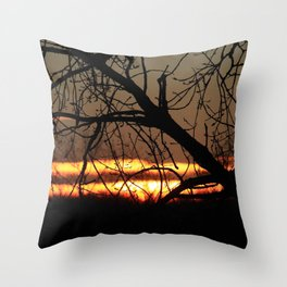 The Dawn of a New Day Throw Pillow