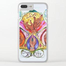 Birdie Birdies Clear iPhone Case