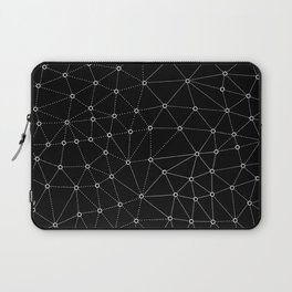 African Triangle Black Laptop Sleeve