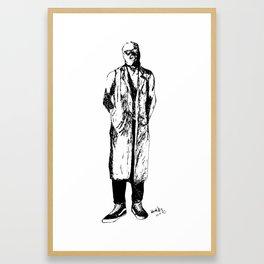 Kaleb Framed Art Print