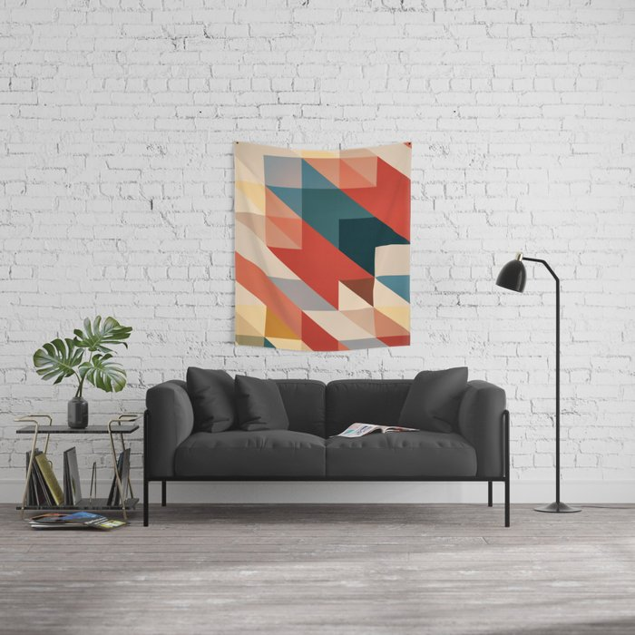 ABSTRACT 9D Wall Tapestry
