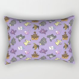 Ghost-type Rectangular Pillow
