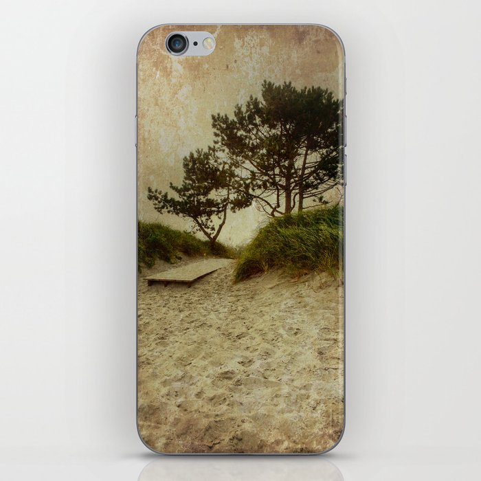 Trees by the Sea iPhone Skin