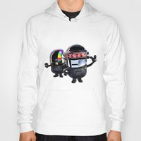 minions Hoodies featuring Daft Minion by Harry Martin