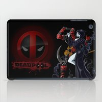 thanos iPad Cases featuring Deadpool by Dee9922