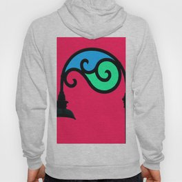 Street Lamp in My Mind Hoody