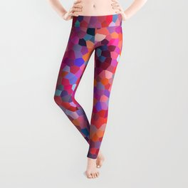 Geometric Abstract Spiral Leggings