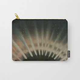 Aurora Borealis from the Trouvelotastronomical drawings (1881-1882) by E L Trouvelot (1827-1895) Carry-All Pouch