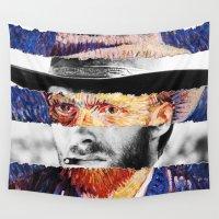 van Wall Tapestries featuring Van Eastwood by Luigi Tarini