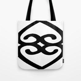 Asase Ye Duru Adinkra Symbol Tote Bag