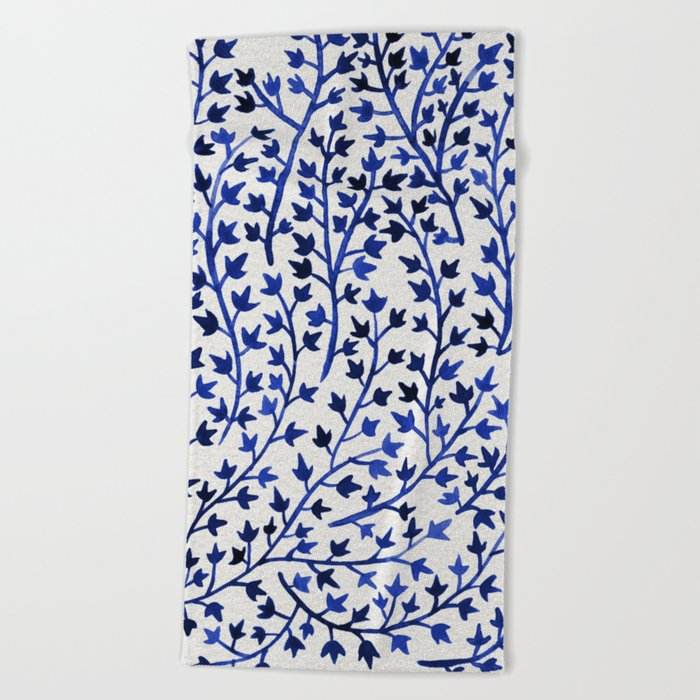 Porcelain Ivy Beach Towel