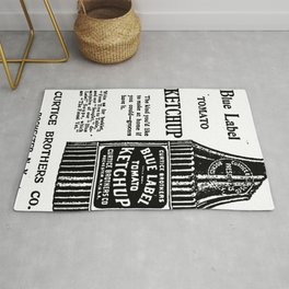 Blue Label Tomato Ketchup Rug