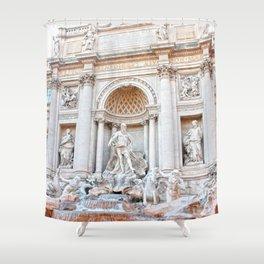 Fontana di Trevi Shower Curtain