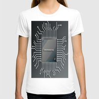 computer T-shirts featuring Computer Chip by Robin Curtiss