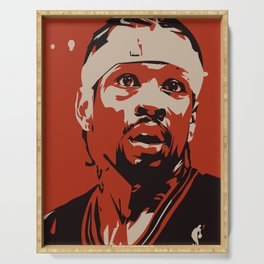 "Iverson ""The Answer"" Serving Tray"