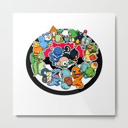 Let the starters celebrate 20 years of greatness with you! Metal Print
