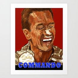 Commando Art Print